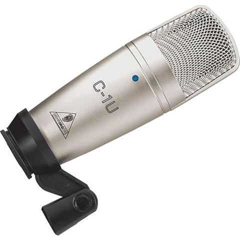 Microfono USB Behringer C1U - Behringer C1 Microfono A Condensatore