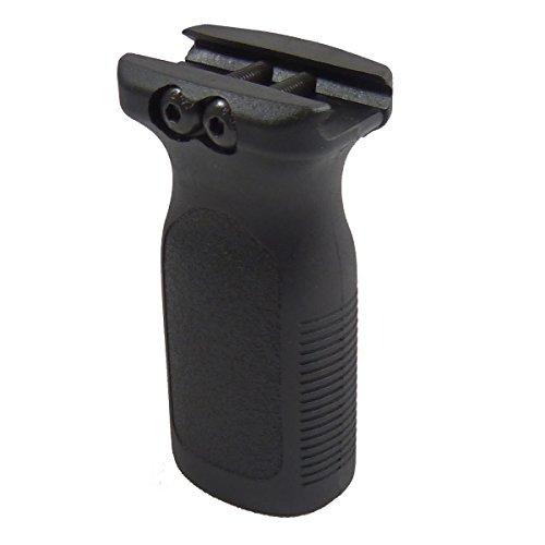 Element Black Rvg Rail Vertical Grip Forward Front Gun Grip Ris Airsoft M4 Rifle -