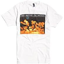 Rage Against The Machine Live Tom Morello Rock offiziell Männer T-Shirt Herren