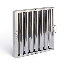 e-filters pi50430.490.490 filtre de lattes en Acier inoxydable aisi 430, 490 x 490 x 48 mm