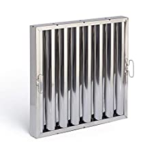 E-Filters PI50430.490.490 Lamellenfilter Inox Aisi 430, 490 x 490 x 48 mm