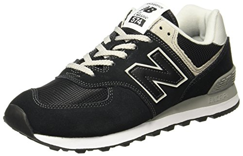 New Balance 574v2 Core, Scarpa da Tennis Donna, Nero Black, 39 EU