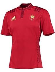 Adidas FFR A JSY T-shirt pour homme Rouge/doré