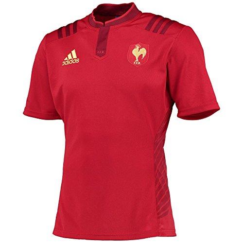 040197f20ac adidas FFR A JSY - Camiseta para hombre, color rojo / dorado, talla XS