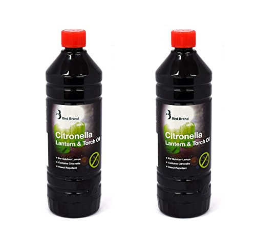 2 x Bird Brand Insect Repelling Citronella Lamp lantern And Torch Oil 1 Litre … Test