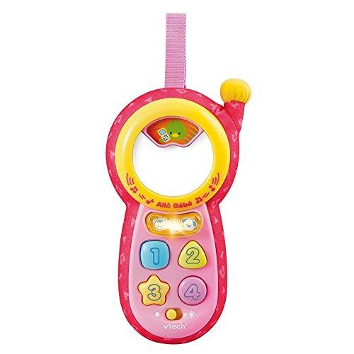 VTech Allo Bébé Nouvel 111355Spielzeug Telefon Pink