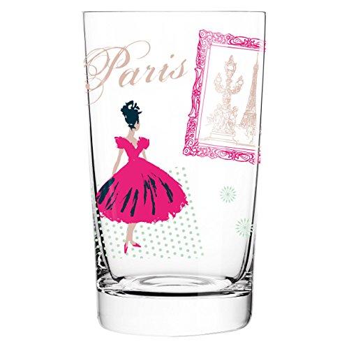 Ritzenhoff 3270013 Everyday Darling Softdrinkglas, 7,3 x 7,3 x 12,7 cm, mehrfarbig