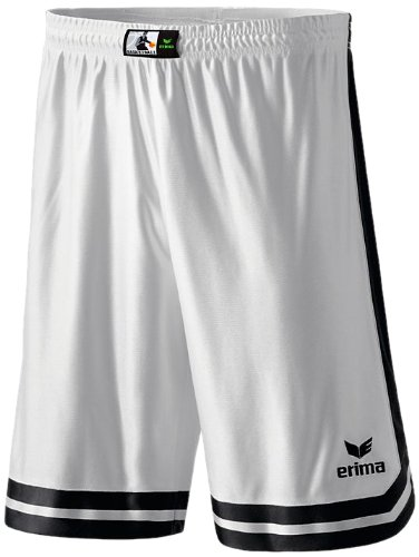 Erima Kinder Shorts Overtime, weiß/schwarz, 164, 615240