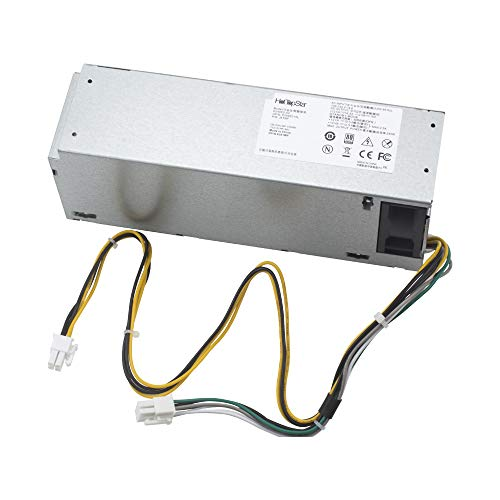 HotTopStar 240 W H240ES-02 Netzteil für Dell Optiplex 3046 3050 5050 7050 Mini Tower L240ES-00 HU240AS-02 H240NM-00 H240NM-02 HU240AS-00 P/N: J61WF DK87P F484X DW3M7 HT04K