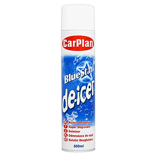CarPlan Blue Star-Defroster 600ml (De Icer Aerosol)