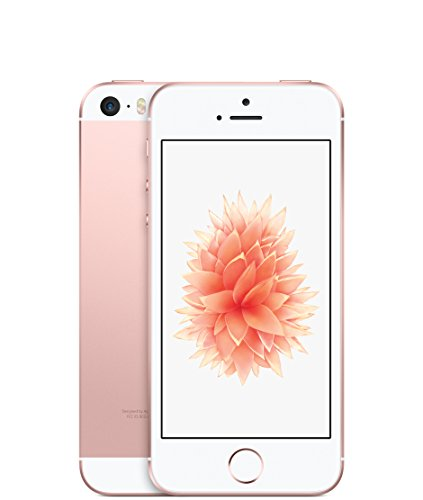 Apple iPhone SE Smartphone (4 Zoll (10,2 cm) Touch-Display, 16 GB Speicher, IOS) roségold