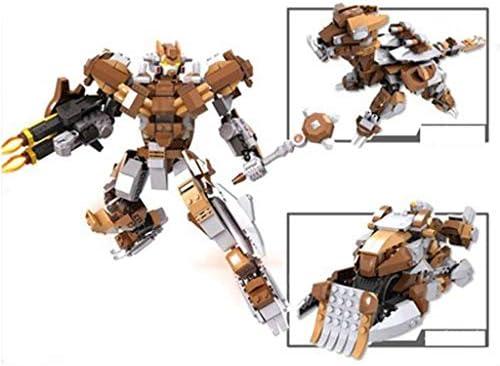 Xuping Mech Insertion  s Puzzle Assemblage Sort Insertion Mech Blocs de Construction Jouets 3-6-10 Ans Boutique Crafts Modèle Cadeaux (Couleur : Brown) d825cf