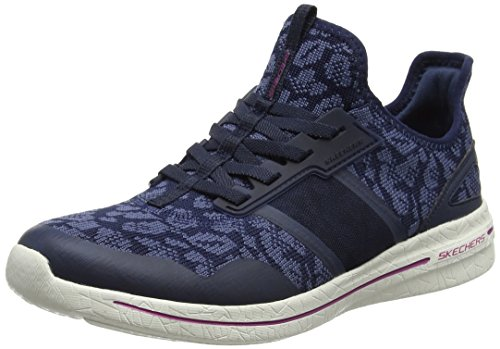 Skechers Damen Burst 2.0-Game Changing Ausbilder, Blau (Navy/Blue), 38 EU