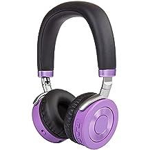 Puro Sound Labs JuniorJams Premium Auriculares Bluetooth para niños Auriculares con limitación de volumen y orejera con micrófono, uso compartido de la ...