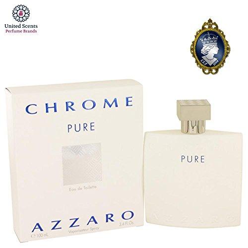 Azzaro Chrome Pure Eau de Toilette Spray 100 ml