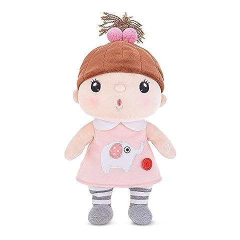 BELK Puppenstuben Weiche Stuffed Beruhigen Spielzeug in Fantasie Kostüm 12