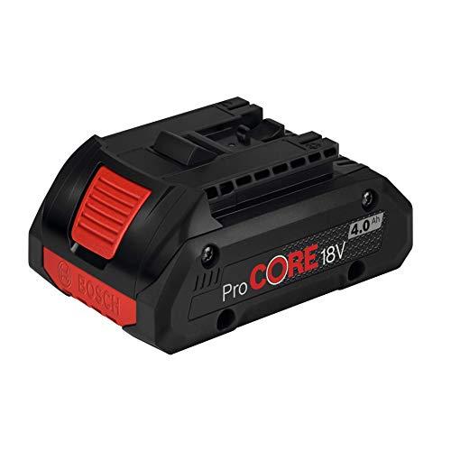 Bosch 1600A016GB ProCORE Batterie professionnelle 4 Ah 18 V Noir