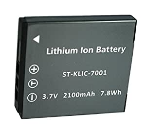 Kodak Digital Camera Battery KLIC- 7001 for OEM M1063, M1073 IS, M340 +Warranty
