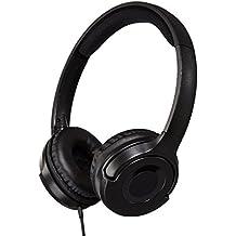 AmazonBasics - Auriculares de diadema, color negro