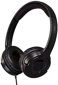 AmazonBasics On-Ear Headphones (Black)