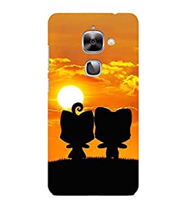 HiFi Designer Phone Back Case Cover Letv 2 :: LeEco Le 2s :: LeEco Le 2 Pro :: LeTV 2 Pro :: LeEco Le 2 ( Cute Couple Love )
