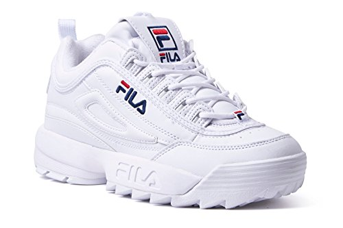 FlLA Fila Disruptor Baskets II 2 Low Blance Turnschuhe W Schuhe Damen Weiß (42 EU) (Fila-weiß Schuhe)