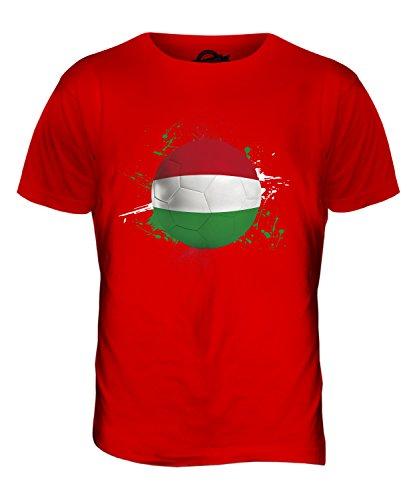 CandyMix Ungarn Fußball Herren T Shirt Rot