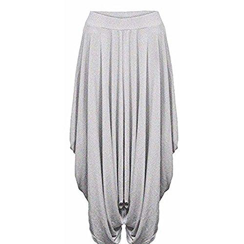 JAVOX Fashion's -  Pantaloni  - Donna Light Grey