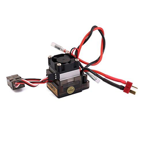 Regulador De Velocidad 320a 7.2v-16v Esc Alta Tensión Cepillado Para Rc Barco...