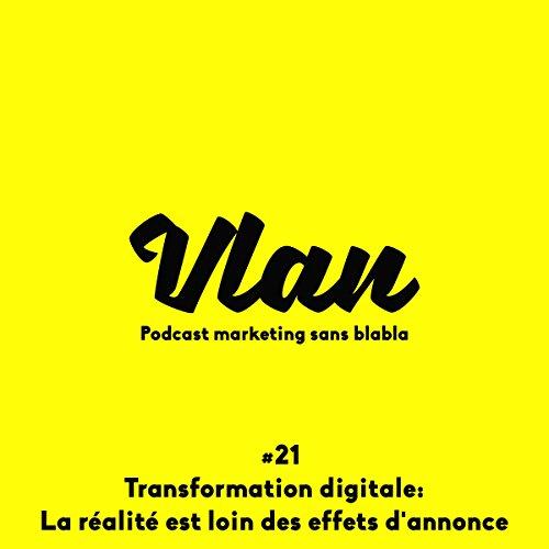Transformation digitale : La réalité est loin des effets d'annonce ! (Vlan 21)