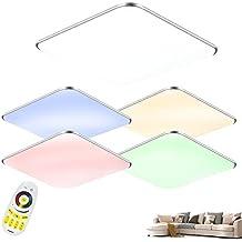 SAILUN 24W RGB Ultraslim LED Deckenleuchte Modern Deckenlampe Flur Wohnzimmer Lampe Schlafzimmer Kche Energie Sparen Licht