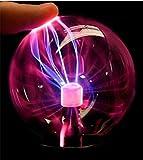 Outstanding Bola de cristal de plasma USB lámpara de luz de la esfera por el partido casero