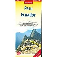 Nelles Map Landkarte Peru - Ecuador: 1 : 2,500,000 (Nelles Map / Strassenkarte)