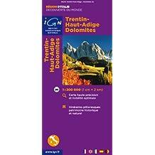 86215 Trentin/Haut-Adige/Dolomites 1/200.000