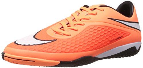 Nike Men's Hypervenom Phelon Ic Hyper Crimson,White,Atomic Orange,Black  Football Boots -9 UK/India (44 EU)(10 US)