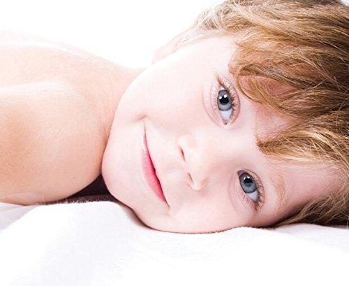 MyHoppi Atmungsaktive Matratzenschoner / Wasserundurchlässige Matratzenauflage mit Eckgummies / Matratzenschutz / für Kinder und Babys / Babybett / Hygiene-Schutz (OEKO-TEX Standard 100)/(60x120cm)