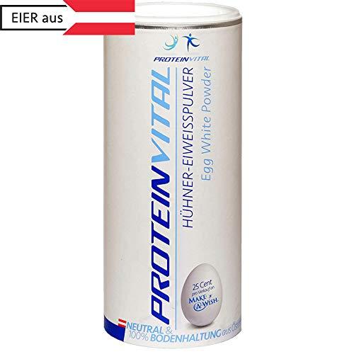 PROTEINVITAL Eiklar-Ei-Protein-Pulver   Regional Österreichische Qualität   BH 500g