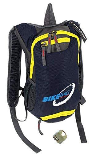 Fahrradrucksack für Trekking Outdoor Sport | Ultra-Leichter handlicher Rucksack fürs Bike in 2 Farben | gepolstert (Blau)