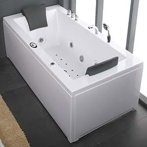 1800 whirlpool luxury jacuzzi bath with radio mood. Black Bedroom Furniture Sets. Home Design Ideas