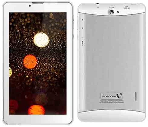 Videocon V-Tab Max Tablet (16GB, 7 Inches, WI-FI) White, 1GB RAM Price in India
