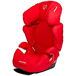 Maxi-Cosi Rodi AirProtect Child Car Seat, Lightweight Highback Booster, 3.5-12 Years, 15-36 kg, Nomad Red   11