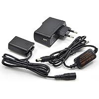 5V-8.4V USB Cable De Conducción AC-PW20 + NP-FW50 Batería Falsa + 5V3A USB Adaptador para Sony NEX3 NEX 5 7 SLT-A33 A55 SLT-A35 a7 / 7R a7II a6000 a3000