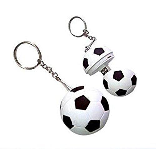 BIGBOBA 1 Stück Mini-Fußball-Design USB-Stick 16 GB USB 2.0 Flash-Laufwerk, Kompatibel mit Handys OTG USB Flash Key Pen Drive Memory Stick für Tablet
