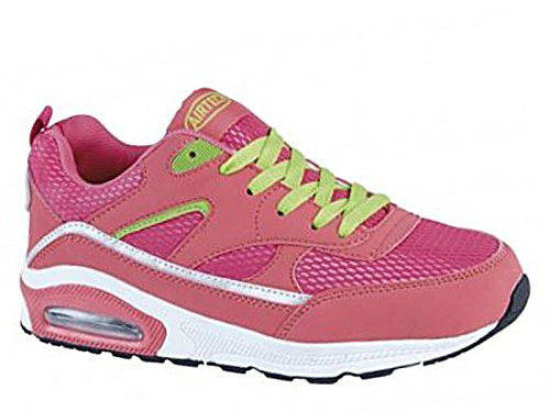 Ladies Running Trainers Air Tech Shock Absorbing Fitness Gym Sports Shoes Size...