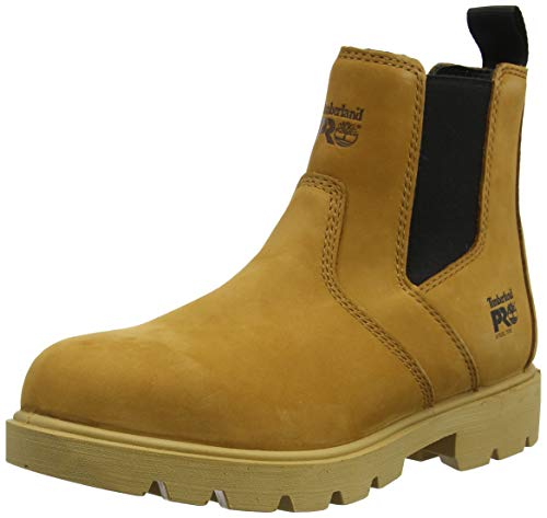 1c2d509a483 Timberland Pro sawhorse Dealer Safety Boots Mens Water Resistant Steel Toe  Cap (12 UK, Wheat)