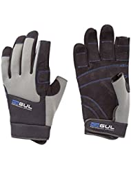 Gul Winter Three Finger Sailing Gloves 2017 - Black/Charcoal