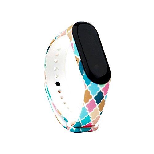 Preisvergleich Produktbild 16 Farben für Uhrenarmband Smart Watch Armband Ersatzband Herren Frauen für Xiaomi 3