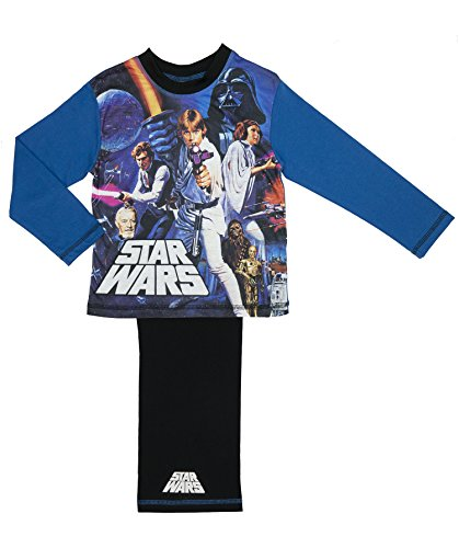 Cartoon Character Products Star Wars Original Movie Boys Pyjamas - Age 4-12 Years, Various Designs