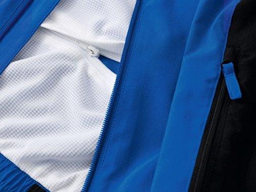 erima Erwachsene Anzug Premium One Präsentationsjacke New Royal/Schwarz/Weiß