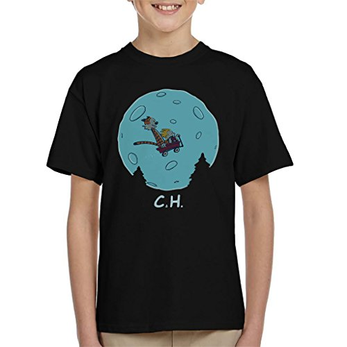 Cloud City 7 Flying Wagon Ch Et Calvin and Hobbes Kid\'s T-Shirt